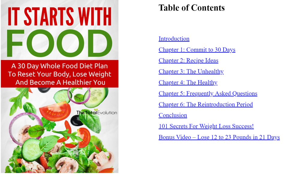 It Starts with Food Table of Contents.png